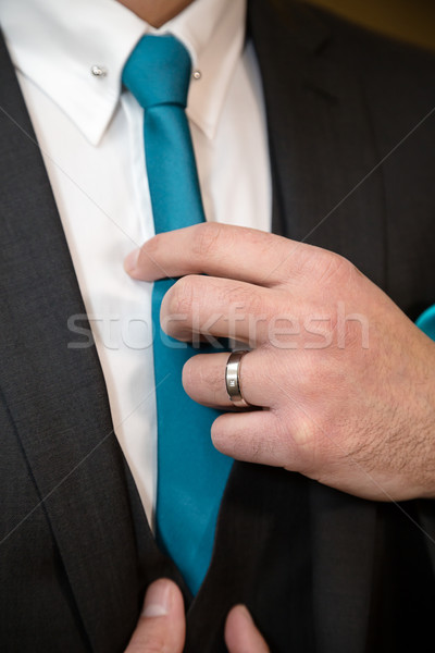 Groom tie Stock photo © esatphotography