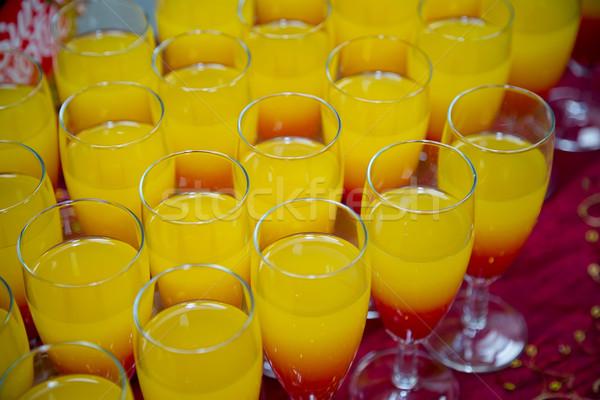 Reception fruit drinks Stock photo © esatphotography