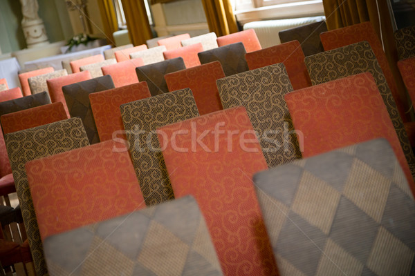 церемония сидят стульев отображения Сток-фото © esatphotography