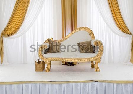 Bruiloft fase goud bloem kunst kleur Stockfoto © esatphotography