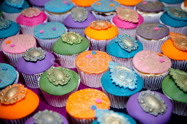 Cupcakes Stock photo © esatphotography