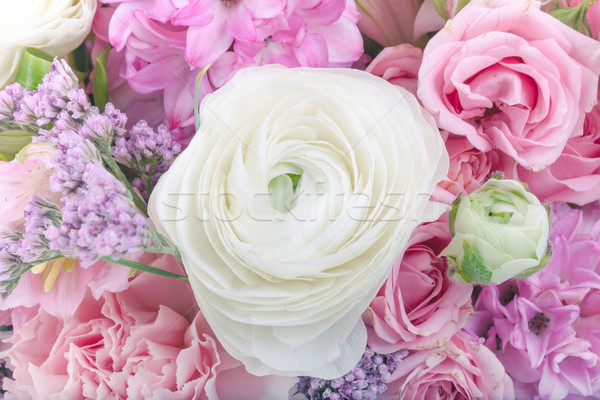 удивительный букет пастельный цветами Сток-фото © Escander81