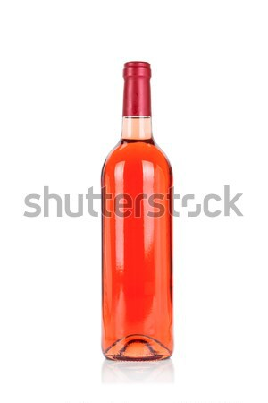 Bouteille rose vin blanche isolé alimentaire Photo stock © Escander81
