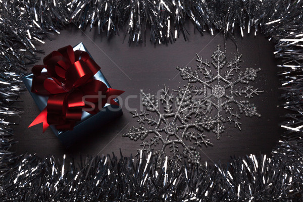 шкатулке бумаги текстуры сердце Сток-фото © Escander81