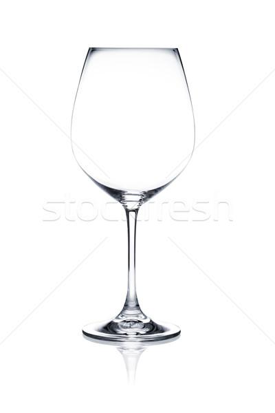 коктейль стекла набор пусто белый Сток-фото © Escander81