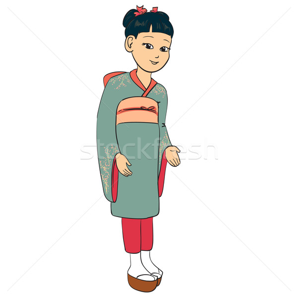 Japanese girl Stock photo © ESSL