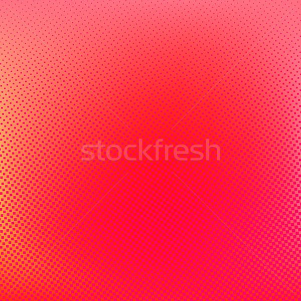 Halftone background. Red creative vector illustration Stock photo © ESSL