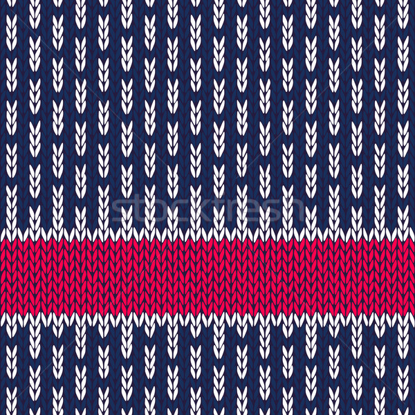 Knit Seamless Pattern Stock photo © ESSL