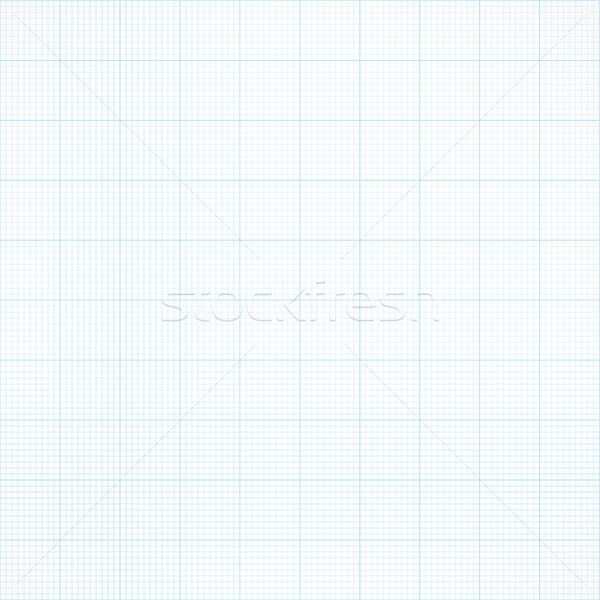 グラフ シームレス ミリメートル グリッド 紙 ベクトル ストックフォト © ESSL