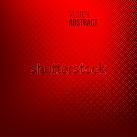 Abstract halftoon stippel Rood business presentatie Stockfoto © ESSL