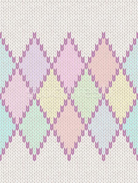 Végtelenített fény baba textil szín kötött Stock fotó © ESSL