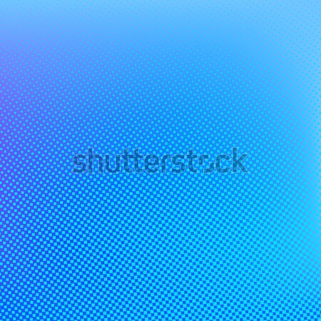 Halftone background. Cyan blue and lilac color Stock photo © ESSL