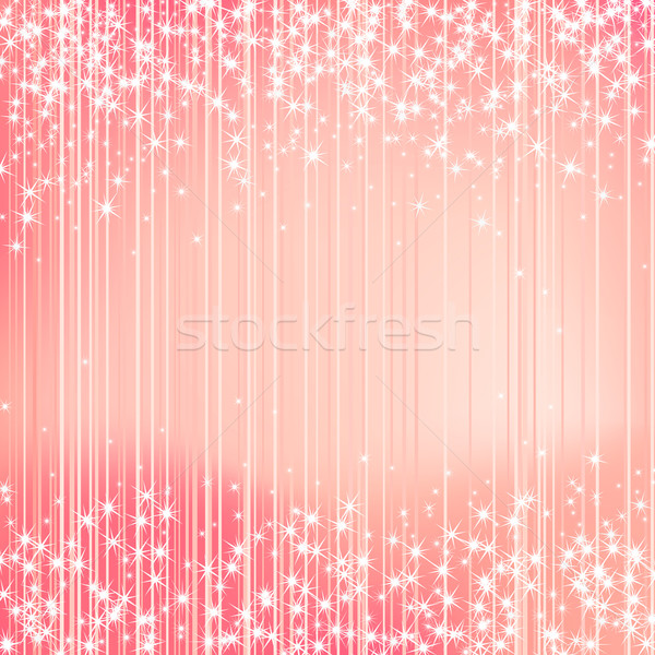Bright background with stars. Festive design. New Year, Christma Stock photo © ESSL