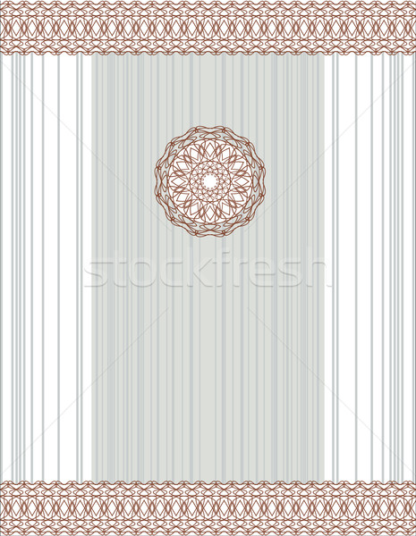 vector abstract vintage card with decorative elements Stock photo © ESSL