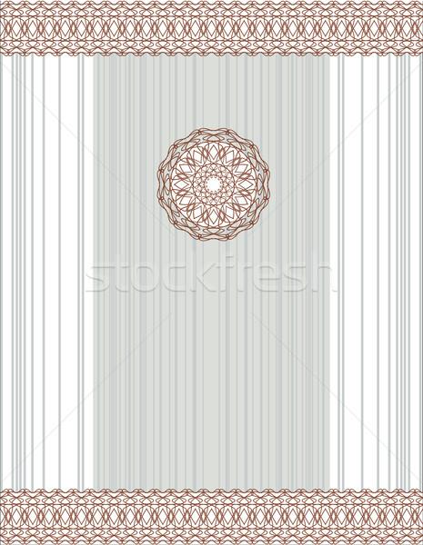 Vecteur résumé vintage carte décoratif Photo stock © ESSL