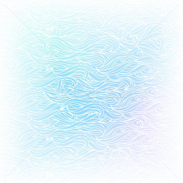 シームレス 抽象的な ベクトル 水色 白 色 ストックフォト © ESSL