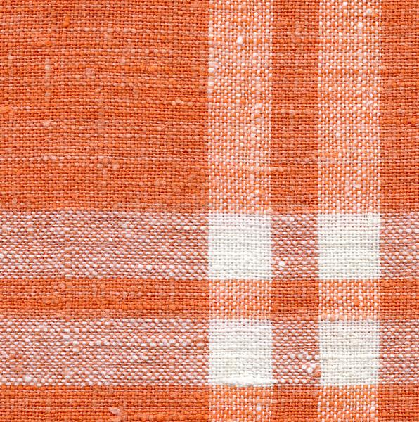 Tuval doku beyaz turuncu şeritler arka plan Stok fotoğraf © ESSL