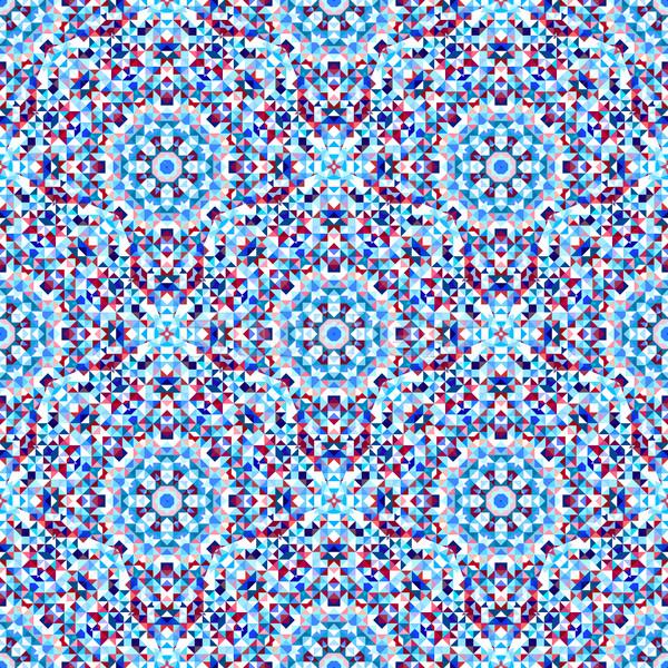 Résumé géométrique vecteur fleur Photo stock © ESSL