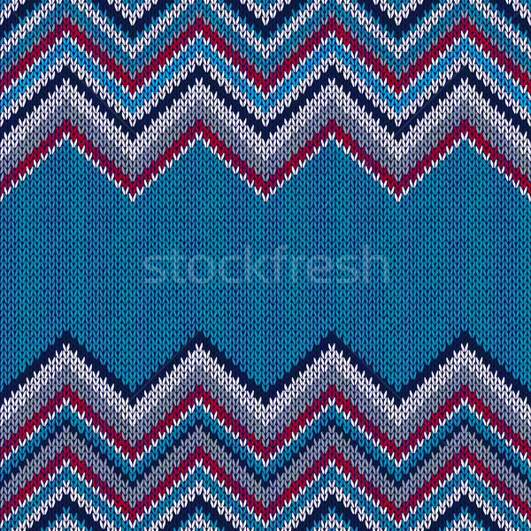Fashion Fabric Color Swatch. Style Horizontally Seamless Textile Stock photo © ESSL