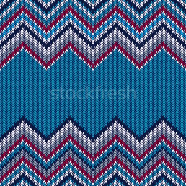 Moda tessuto colore stile senza soluzione di continuità tessili Foto d'archivio © ESSL