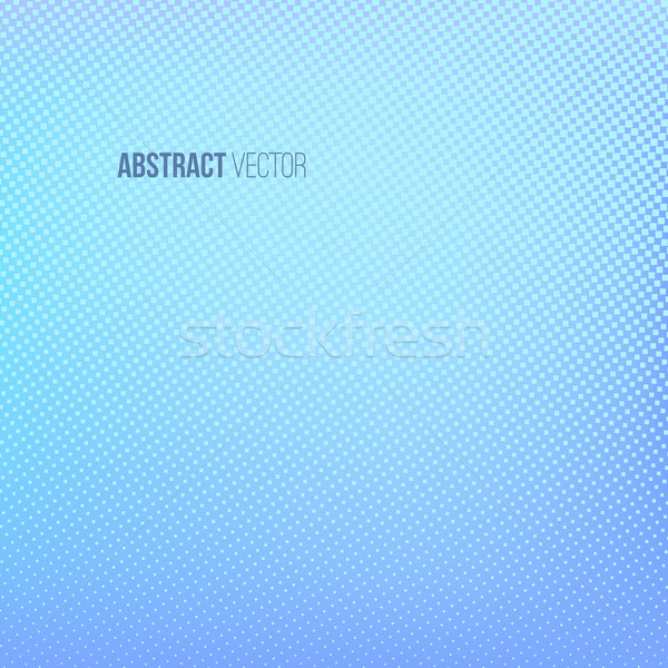 Halftone background. Blue and turquoise abstract spotted pattern Stock photo © ESSL