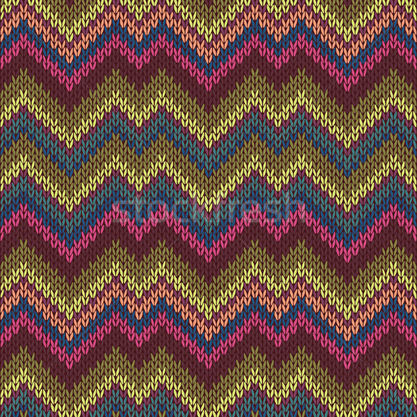 Seamless Knitwear Pattern Stock photo © ESSL