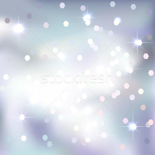 Absztrakt ünnepi terv varázslatos új év karácsony Stock fotó © ESSL