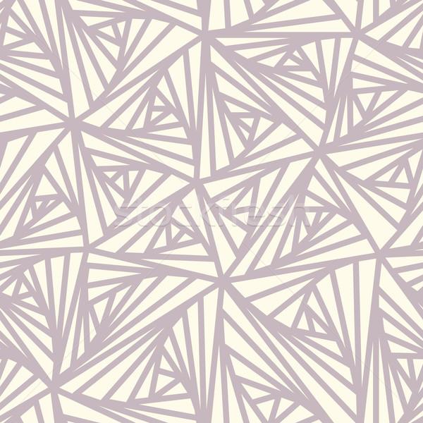 Abstrato geométrico luz vetor padrão fundo Foto stock © ESSL