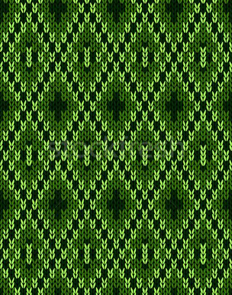 Stílus gyapjú végtelenített dísz textúra szövet Stock fotó © ESSL