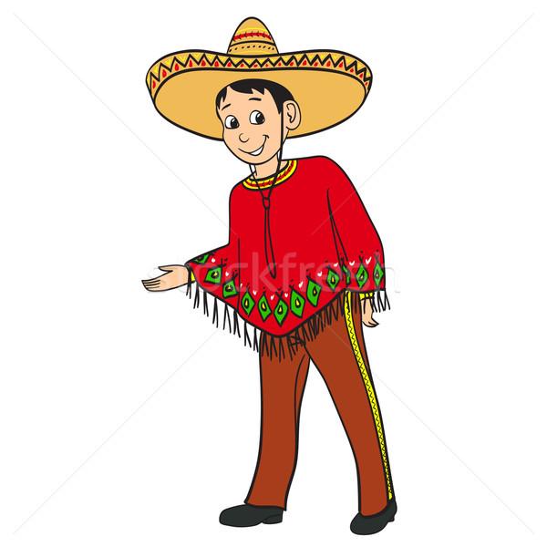 Рисованные картинки мексиканцев