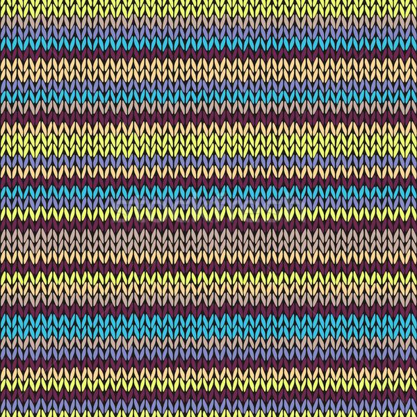 Tricoté modèle tribales Photo stock © ESSL
