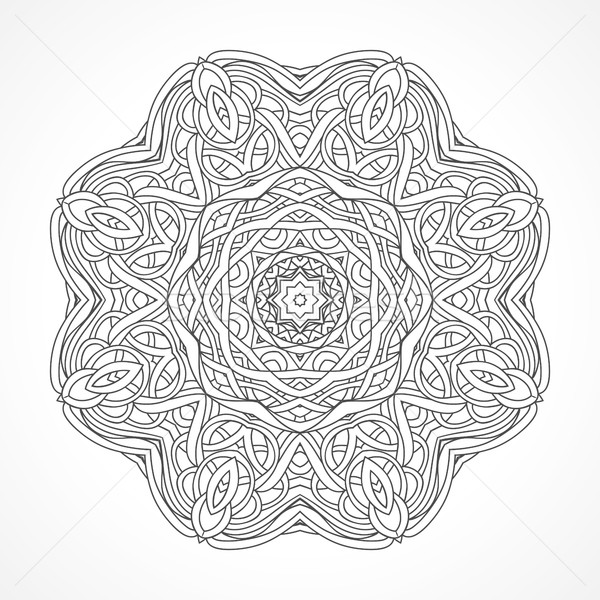 Mandala etnische decoratief communie indian islam Stockfoto © ESSL