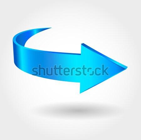 Blue arrow Stock photo © ESSL
