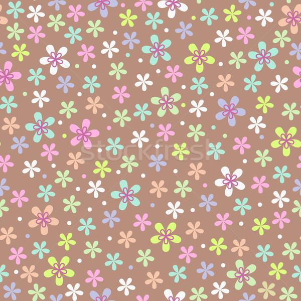 çiçek renk model doku bahar Stok fotoğraf © ESSL
