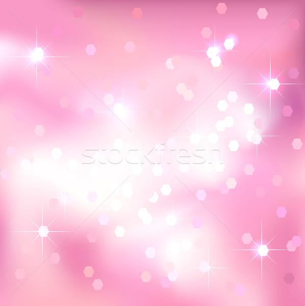 Bright light pink background. Festive design. Stock photo © ESSL