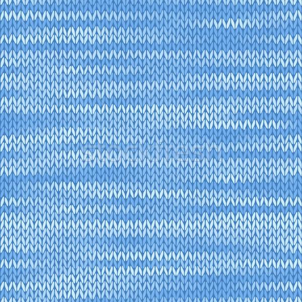 繊維 ファブリック シームレス テクスチャ 水色 色 ストックフォト © ESSL