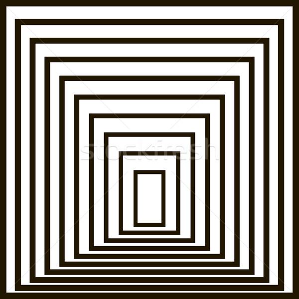 Geométrico vetor padrão porta fundo assinar Foto stock © ESSL