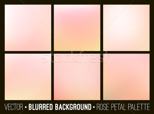 Roz abstract neclara set trandafir Imagine de stoc © ESSL