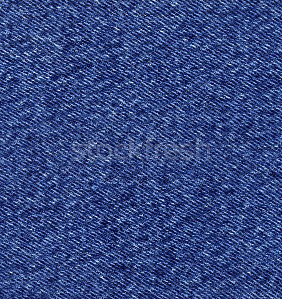 Denim tekstury ciemne niebieski wzór Zdjęcia stock © ESSL