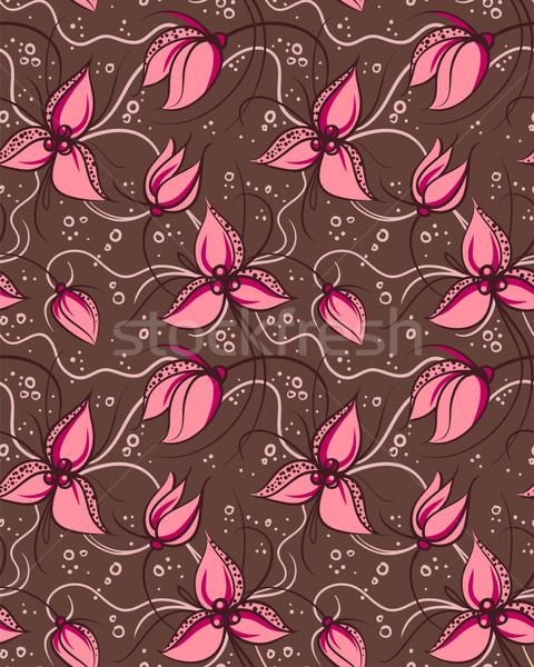 Foto stock: Rosa · orquídea · flores · abstrato · verão