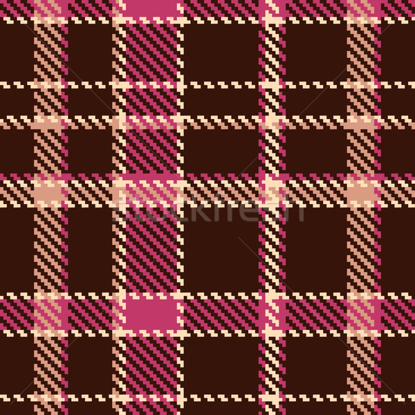 Seamless checkered vector pattern  Stock photo © ESSL