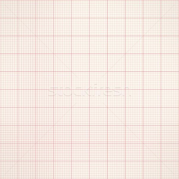 Gráfico sem costura milímetro grade papel vetor Foto stock © ESSL