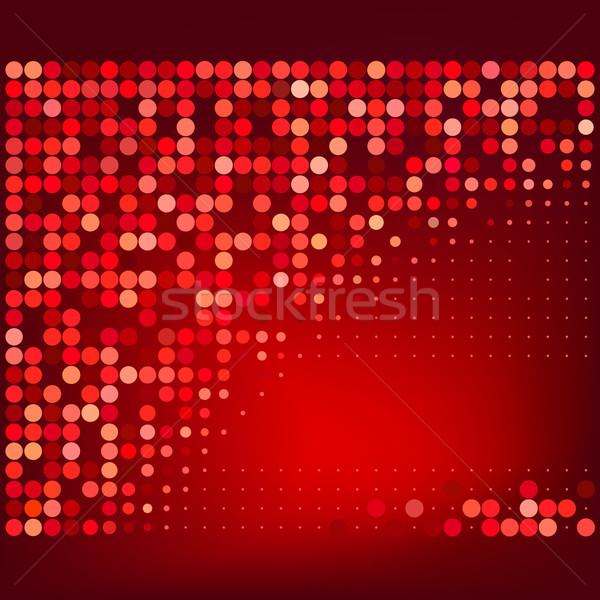 Résumé rouge en demi-teinte vecteur affaires lumière Photo stock © ESSL