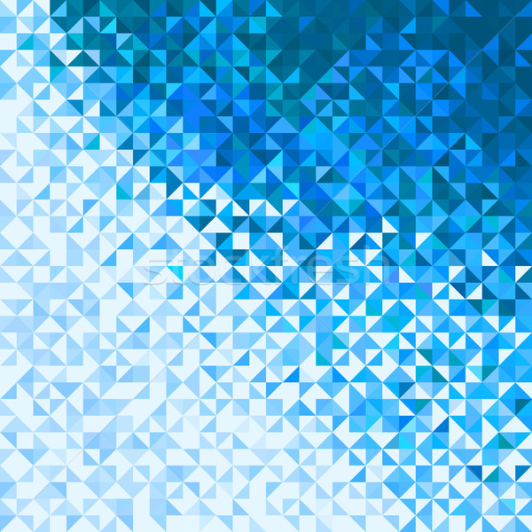 Abstrakten Lichter Blau Weiss Winter Himmel
