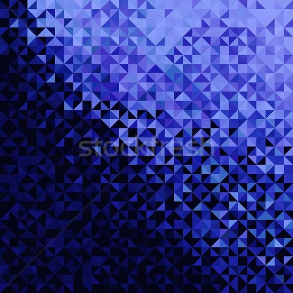 Stockfoto: Abstract · lichten · Blauw · zwarte · disco