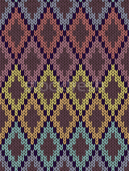 Naadloos licht baby textiel kleur gebreid Stockfoto © ESSL