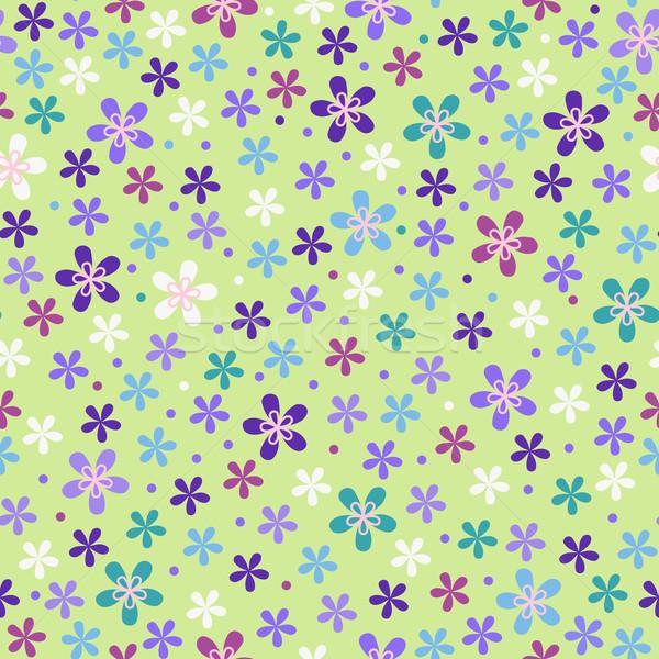 Flower seamless color pattern  Stock photo © ESSL