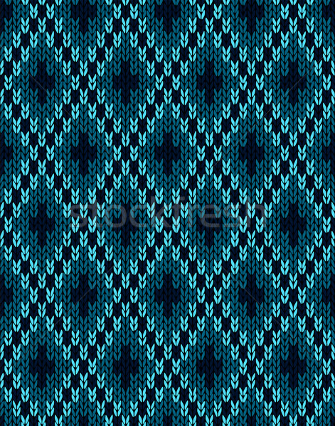 Textile Pattern. Seamless Knitwear Stock photo © ESSL