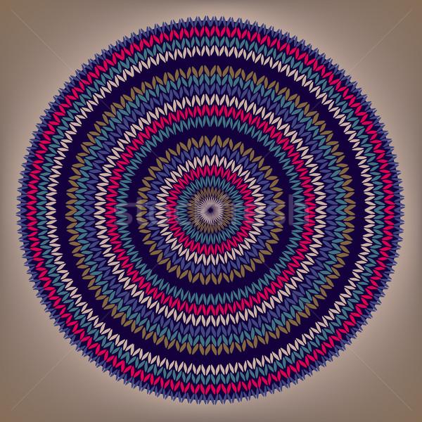 Stijl cirkel eenvoudige kleur vector handwerk Stockfoto © ESSL