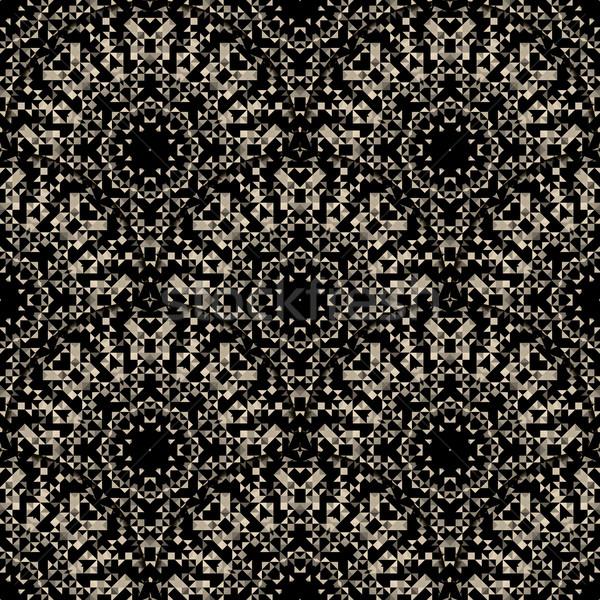 Papel de parede abstrato geométrico vetor Foto stock © ESSL